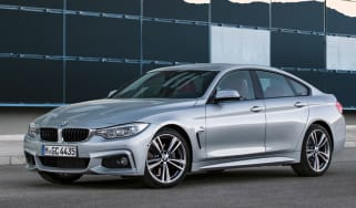 BMW 4 Series Gran Coupe front quarter static