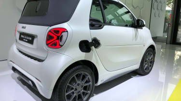 Smart EQ ForTwo rear view