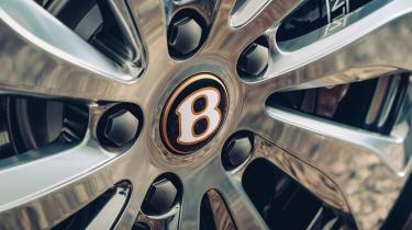 Bentley Continental Flying Spur saloon alloy wheel