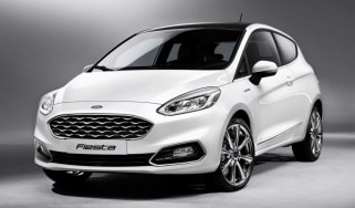 The 2017 Ford Fiesta is the fifth model in Ford's lineup to wear the prestigious Vignale badge
