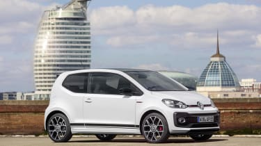 The Volkswagen up! GTI has enthusiasts of the original Golf GTI excited