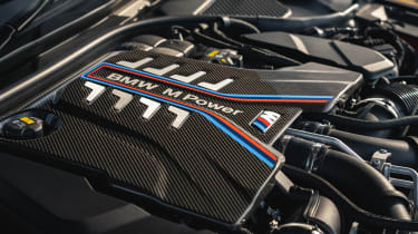 2021 BMW M5 Competition saloon - engine bay