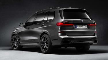 BMW X7 Dark Shadow Edition rear view