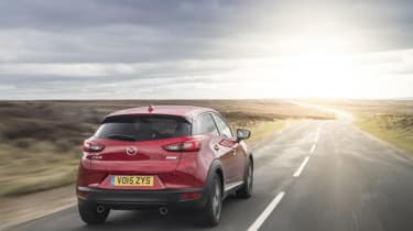 The 1.5-litre SKYACTIV-D diesel has been designed for efficiency and can offer up to 70.6mpg