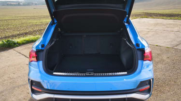 Audi Q3 Sportback SUV - boot space