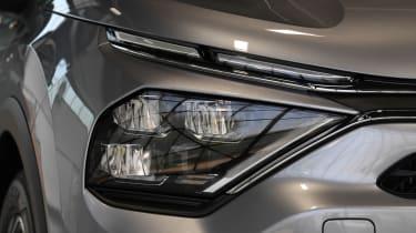 2021 Citroen C4 - front headlight close-up