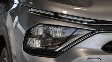 2021 Citroen C4 - front headlight close-up