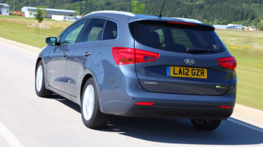Every version of the Cee'd Sportswagon costs £140 in annual road tax after the first CO2-based year