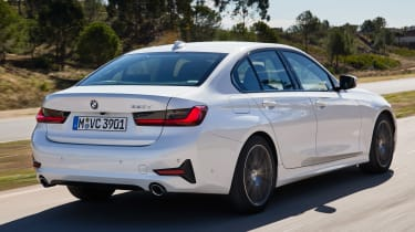BMW 3 Series rear driving