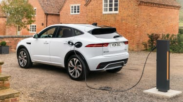 Jaguar E-Pace SUV review charging