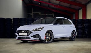 Facelifted Hyundai i30 N