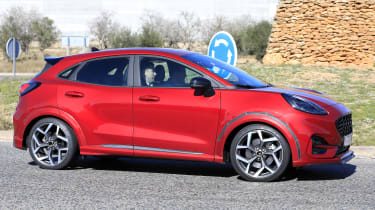 2020 Ford Puma ST - side view passing