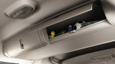Ford Tourneo Connect MPV overhead storage bin
