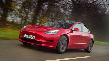 Tesla Model 3 saloon review - gallery