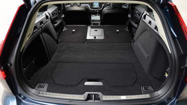 Volvo V60 estate seats folded down