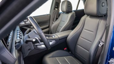 Mercedes GLE Coupe SUV front seats
