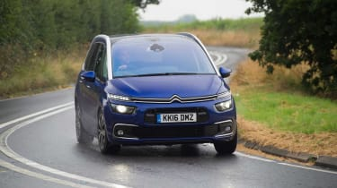 The Grand C4 Picasso is built for comfort, with soft suspension to soak up bumps and improve refinement