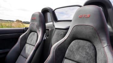 Porsche 718 Boxster convertible front seats