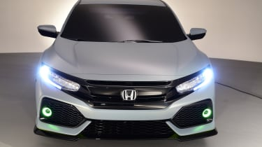 New lighting treatments are a feature of the new Honda Civic