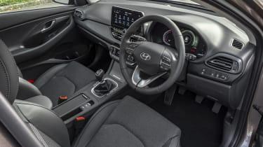 2021 Hyundai i30 interior