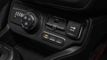Jeep Renegade hybrid switch