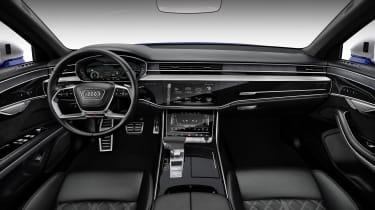 2019 Audi S8 interior