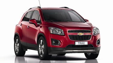 Chevrolet Trax 2013 front quarter