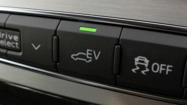 All-electric mode can be activated by a simple button press
