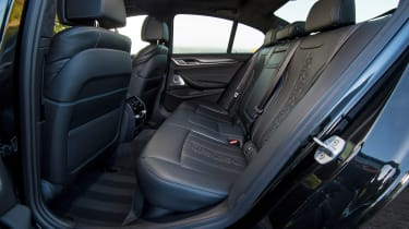 BMW 5 Series saloon rear seats