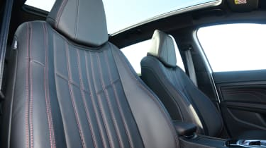 Choose a trim level with leather upholstery and the 308 has an upmarket feel