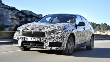 2019 BMW 1 Series pre-production - front driving