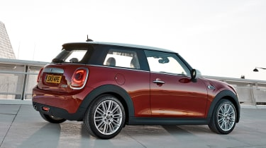 MINI hatchback 2014 rear quarter static
