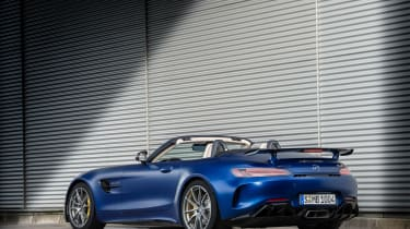 Mercedes-AMG GT R Roadster static tail roof down