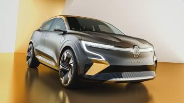 Renault Megane eVision concept front view
