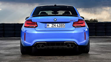 BMW M2 CS - rear view