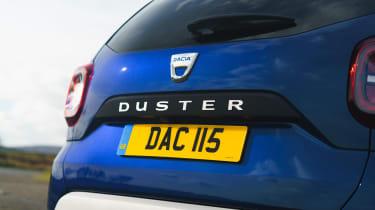 Dacia Duster Prestige tailgate