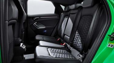 Audi RS Q3 Sportback rear seats