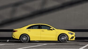 Mercedes-AMG CLA 35 - side view static