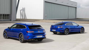 2020 Volkswagen Arteon R Shooting Brake estate and hatchback - static rear view