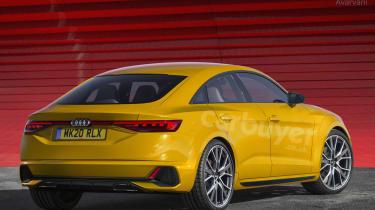 Audi TT four-door exclusive image
