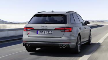Audi S4 Avant TDI - rear driving