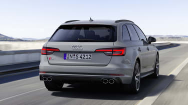 Audi S4 Avant TDI - rear driving