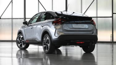 2021 Citroen C4 - rear 3/4 view static