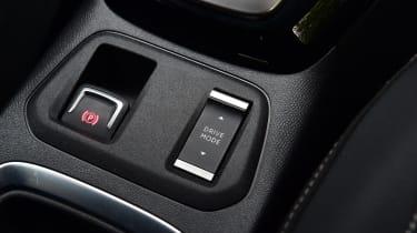 Vauxhall Corsa-e hatchback handbrake