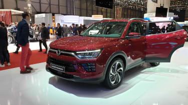 2019 Ssangyong Korando SUV - Geneva reveal side