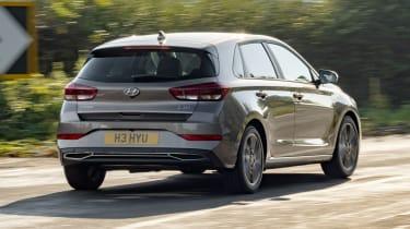 2021 Hyundai i30 driving - rear