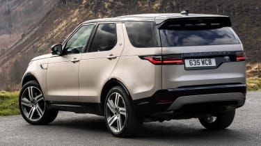 Land Rover Discovery SUV rear 3/4 static