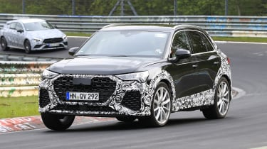 Audi RS Q3 Nurburgring testing - front quarter