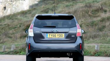 Toyota Prius+ MPV rear static