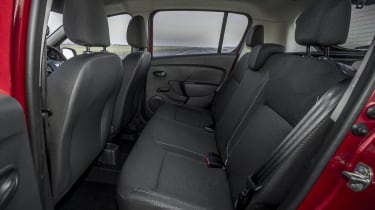 Dacia Sandero hatchback rear seats